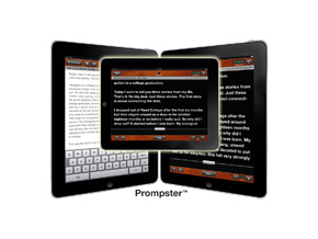 Prompster for iPad